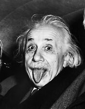 ALBERT EINSTEIN TONGUE OUT GLOSSY POSTER PICTURE PHOTO science funny cool mc 732