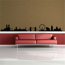 London Skyline Vinyl Wand Sticker Decal Kunst Grafik Dekoration