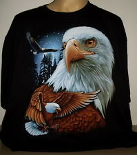 Eagle Hawk Top Quality T-Shirt Size S - 3 XL new! Design 01 Moon Stars Fantasy