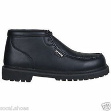 LUGZ SWAGGER SR BLACK MEN'S FASHION / WORK BOOTS NEW IN BOX  # MSPCLV-001