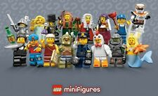 (NEW) LEGO - SERIES 9 MINI-FIGURES - split from packets to sort