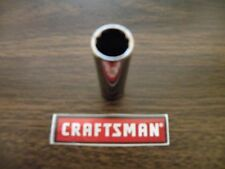 "NEW CRAFTSMAN 1/4"" Drive Dr - SAE Inch in DEEP SOCKET 12pt Point 12pt - ANY SIZE"