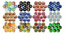 "VARIOUS PEEWEE MMARBLES - 12mm (15/32"") OR SMALLER - RARE AND AMAZING"