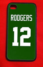 """Aaron Rodgers Green Bay Packers Iphone 4/4S 5/5C/5S 6(4.7"""") 6 Plus Case"""
