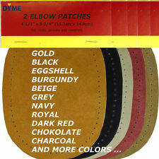 Sew-On Suede Cowhide Elbow Patches  2 per pack