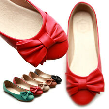 ollio Womens Cute Ribbon Accent Bowed Ballet Flats Loafers Multi Colored Shoes