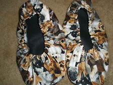 PUPPY-DOGS FABRIC BOWLING SHOE COVERS-MED, LG OR XL