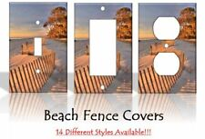 Beach Fence Sand Dunes Light Switch Covers Home Decor Outlet
