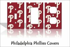 Philadelphia Phillies Light Switch Covers Baseball MLB Home Decor Outlet