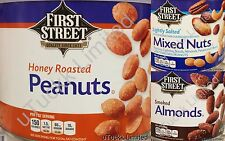 Mixed Nuts Peanuts Almonds Variety Healthy Snack - Fast Free Ship