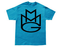 MAYBACH MUSIC T-shirt MMG Rick Ross Wale Meek Mills Stalley Omarion Blk/Turqoise