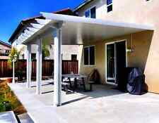 DIY Aluminum Patio Cover - ALUMAWOOD - 10x10, 10x12, 10x15