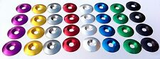 4-Pack  Aluminum Anodized Washers  33mm x 8mm I.D.  Racing Kart Seat Mounting