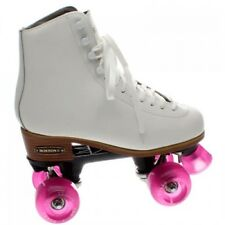 BOSTON II ARTISTICO QUAD SKATES WHITE & BLACK