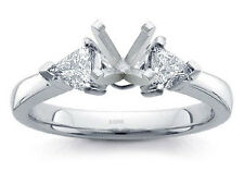 14K WHITE GOLD PRONG DIAMOND ENGAGEMENT RING SOLITAIRE SETTING
