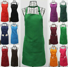 NEW Fashionable Polyester CRAFT / COMMERCIAL RESTAURANT KITCHEN APRON 12 Colors