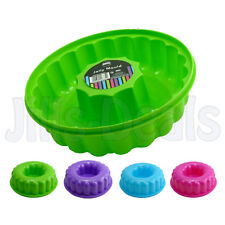 PLASTIC JELLY MOULD LARGE RING SHAPED COOKWARE MOLD JELLY PUDDING CAKE PARTY