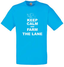 Keep Calm and Farm the Lane, League of Legends Inspired, Men's Printed T-Shirt