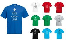 Keep Calm and Support your Carry, League of Legends Lol Inspired Printed T-Shirt