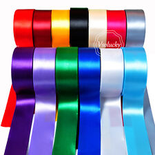 """25yd 1.5"""" (38mm) Wide Satin Ribbon Roll Bow Wedding Party Favor Craft Decoration"""