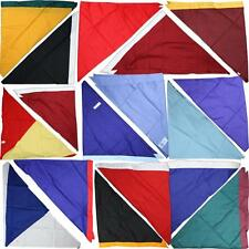 OFFICIAL Girls Guide Brownies Necker Neckerchief Scarf 16 Colours very cheap red