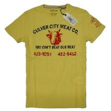 T-shirt REPLAY uomo new S/S 2013 Replay blue jeans CULVER CITY MEAT CO. toro
