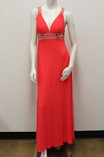 Sonia J Beaded Halter Jersey Prom/Evening/Special Occasion Dress