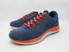 DS 2013 NIKE LUNARGLIDE + 4 EXT OBSIDIAN NAVY 554957-418 NSW RUNNING