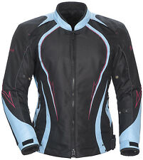 *Ships Same Day* Woman's Cortech LRX Series 3 (Black/Light Blue) Jacket