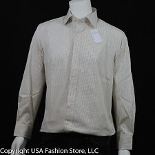 Ralph Lauren Men's Shirts Classic Plaids & Checks Light Yellow NWT