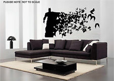 BATMAN - WALL ART DECAL STICKER - SMALL, MEDIUM OR LARGE