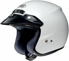 *Fast Shipping* Shoei RJ Platinum-R (White) Open-Face Motorcycle Helmet