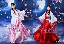 Chinese Han Clothing Princess Fairy Show Cosplay Dress Robe Costume One Size