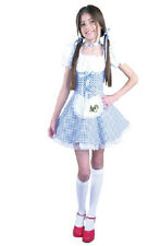 Dorothy Wizard of Oz Gingham Country Girl Fancy Dress Up Halloween Child Costume