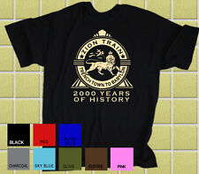 """BOB MARLEY & THE WAILERS """"Zion Train"""" Inspired """"Trench Town to Babylon"""" T-Shirt"""