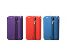 Izenus Cover Case for Samsung Galaxy S4 (Purple Red Blue Diary Collection)