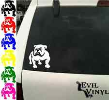 Bulldog Vinyl Car Window Decal Dog Puppy Pet English French Boxer Adopt ANY SIZE