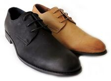 NEW FASHION MENS LACE UP WING TIP OXFORDS LEATHER LINED DRESS SHOES /2 COLORS