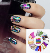 1.5m x 0.1m Nail Art Space Nails Foil Transfers Manicure Decoration Pedicure