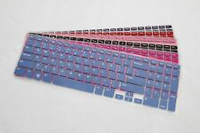 Color Keyboard Skin For DELL Inspiron 15R-5521 15-3521 (with numeric keypad)
