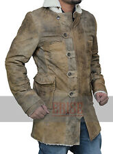 Dark Knight Rises Bane Coat Real Leather Jacket - 100% Money Back Guarantee !!!