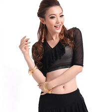 newest sexy free shipping 2013 belly dance costume dres top blouse Dancewear