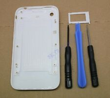 WHITE HOUSING BACK COVER SIM TRAY FOR IPHONE 3GS 3G TOOLS REAR REPLACEMENT CASE