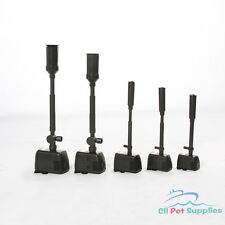 Fountain Pond Pump w/ Nozzles Heads Sets for Waterfall Water Feature 160-476 GPH