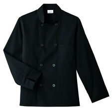 Five Star Long Sleeve Chef Jacket Style 18000-015 (Black)
