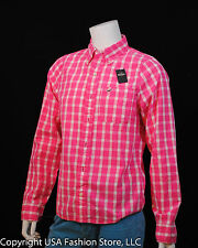 NWT Hollister by Abercrombie Men's Shirt Palm Canyon Pink