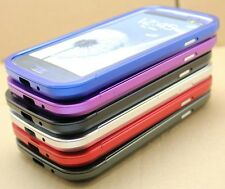 METAL ALUMINUM BUMPER SLIDER CASE COVER FOR SAMSUNG GALAXY HARD NEW ALLOY FRAME