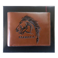 NEW Brown Luxury Money Clip Wallet ID Card Wallet