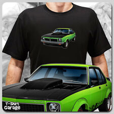 Illustrated HOLDEN TORANA SLR5000 T-SHIRT lh/lx Classic Australian Muscle Car