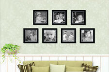 Black Square size Picture Photo Frames Stand/Wall Hang Home office shop